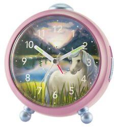 Atrium Kids' Alarm Clock Alarm Clock Analog Quartz Horse Girls A932-17 Siabelle