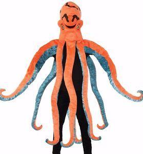 Octopus Costume Mascot Plush Animal Cosplay Squid Octupus Tentacles - Fast -