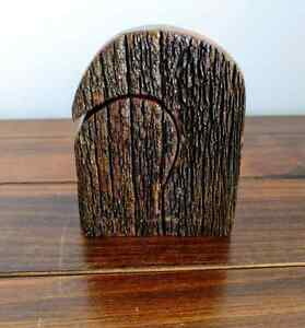 BRAND NEW Rustic Wooden Salt and Pepper Shakers Newcastle Newcastle Area Preview