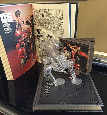 Motoko Kusanagi Ghost in the Shell SOLID BOX set manga anime art book hard disk