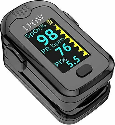 Pulse Oximeter Fingertip Blood Oxygen Saturation Monitor For Pulse Rate Heart