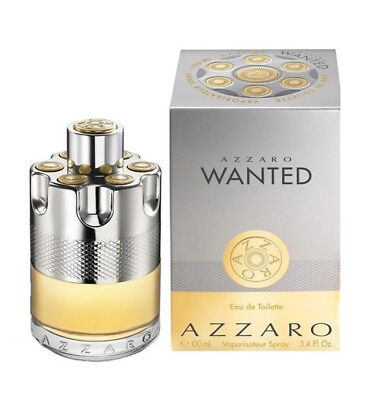 Azzaro Wanted cologne edt 3.4 oz 3.3 NEW IN BOX