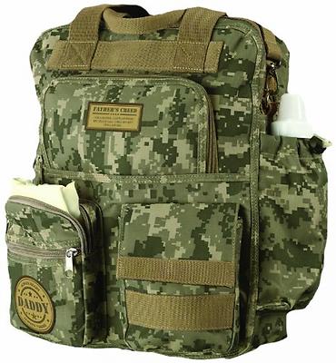 Lillian Rose® Military Daddy Diaper Bag