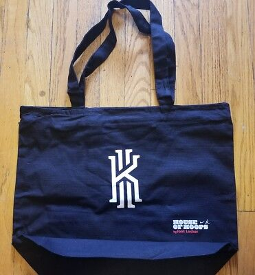House Of Hoops Foot Locker Kyrie Irving Cereal Canvas Tote Bag Lucky Charms Kix