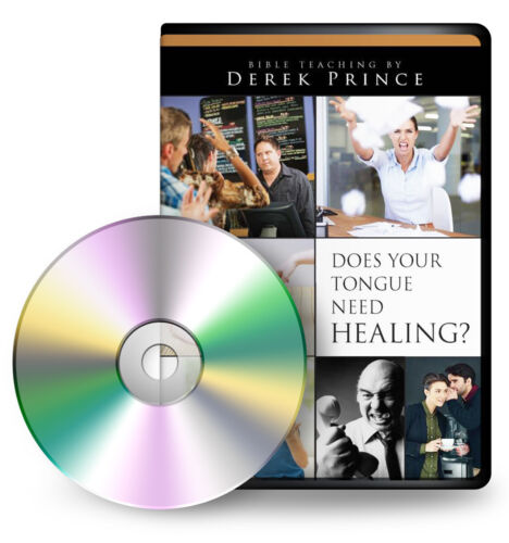 AUDIO: Does Your Tongue Need Healing? (2 CDs) - by Derek Prince