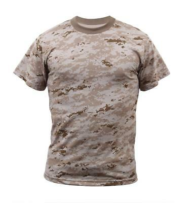 T-Shirt Desert Digital Camo Military Digital Camouflage Rothco 5295