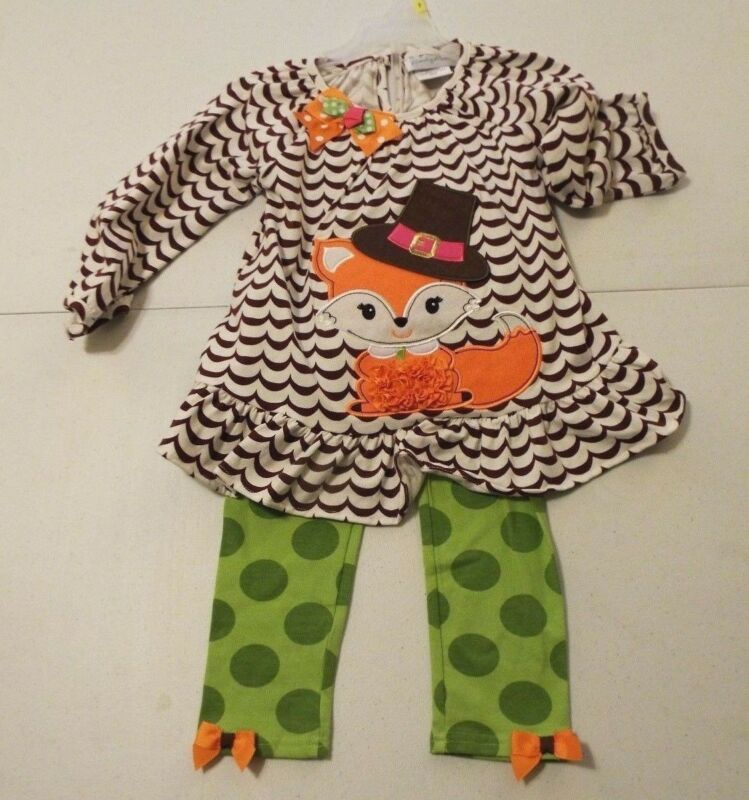 Emily Rose Girl's  2 Piece Legging Set  Size 2T NWT Free Shipping