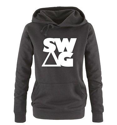 SWAG – Damen Frauen Hoodie Gr. S – XL Versch. Farben