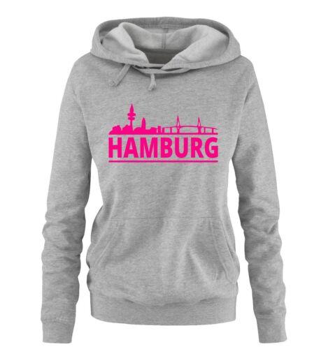 HAMBURG – SKYLINE – Damen Hoodie