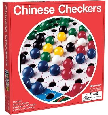 New Pressman - Chinese Checkers - Board (Chinese Checkers Game Board)