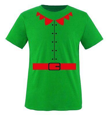 Comedy Shirts - ELFEN KOSTÜM - Herren T-Shirt | (Herren Elfen Kostüm)