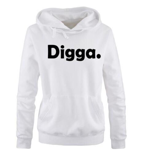 Comedy Shirts – DIGGA – Damen Hoodie | HAMBURG DOPE SWAG