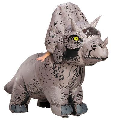 Rubies Jurassic World Triceratops Aufblasbar Erwachsene Halloween Kostüm 821065
