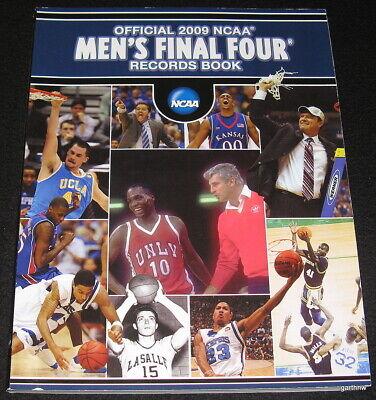 FINAL FOUR FOUR RECORDS BOOK NCAA BASKETBALL 2009 CHAMPIONSHIP NORTH CAROLINA - Final Four Records