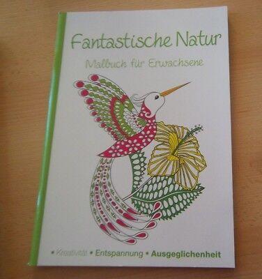 Fantastisches Geschenk (Fantastische Natur Malbuch malen Erwachsene für Advent, Geschenk, Weihnachten)