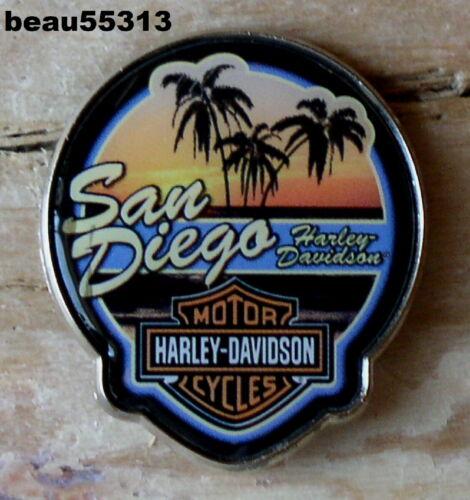SAN DIEGO CALIFORNIA HARLEY DAVIDSON DEALER DEALERSHIP VEST JACKET PIN