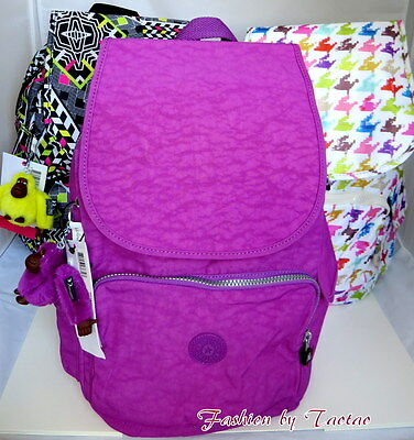 New w Tag Kipling Ravier Backpack w Furry Monkey