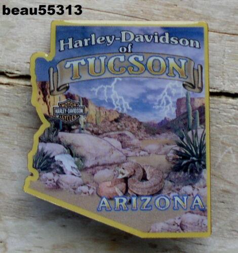 H-D of TUCSON ARIZONA HARLEY DAVIDSON DEALER DEALERSHIP VEST JACKET PIN