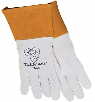 Tillman 25b Medium Tig Welding Gloves Premium Deerskin Leather W 4 Cuff 1 Pair