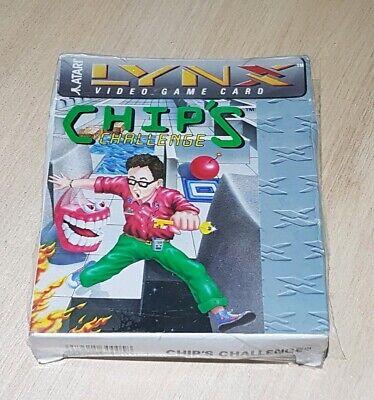 Chips Challenge Atari Lynx game Original New
