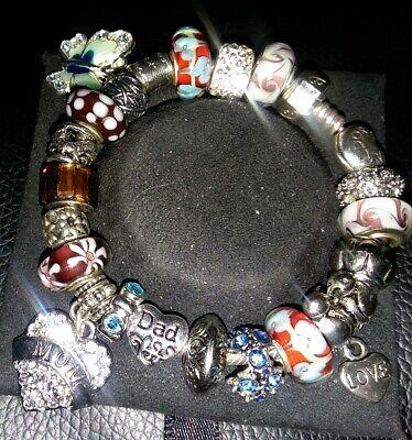 Bird Charm Pandora Bracelet for sale   Only 2 left at -60%