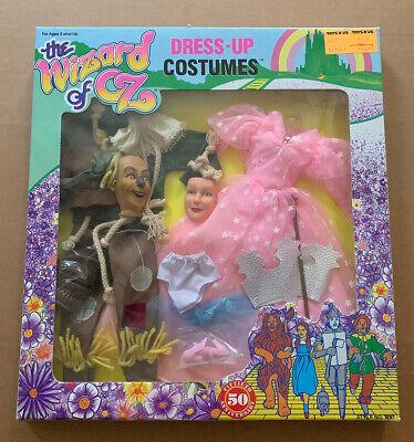 MIB 1988 WIZARD OF OZ Dress-Up Costume Scarecrow (7404)
