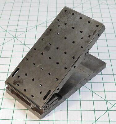 Mech Lab Little Falls Nj 7-34 X 4 10-32 Threaded Machinists Angle Sine Plate