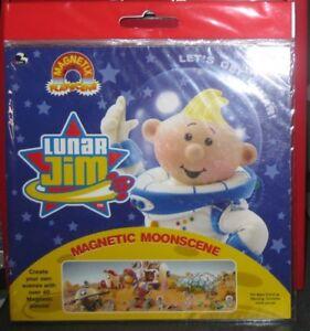 LUNAR JIM MAGNETIC PLAY-SCENE ** BRAND NEW