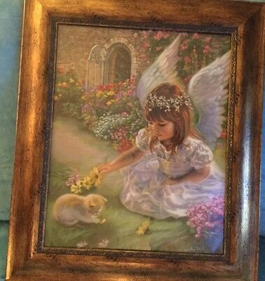 Home Interiors /Celebrating  Home Beautiful Angel's Playmate #74495 New Picture