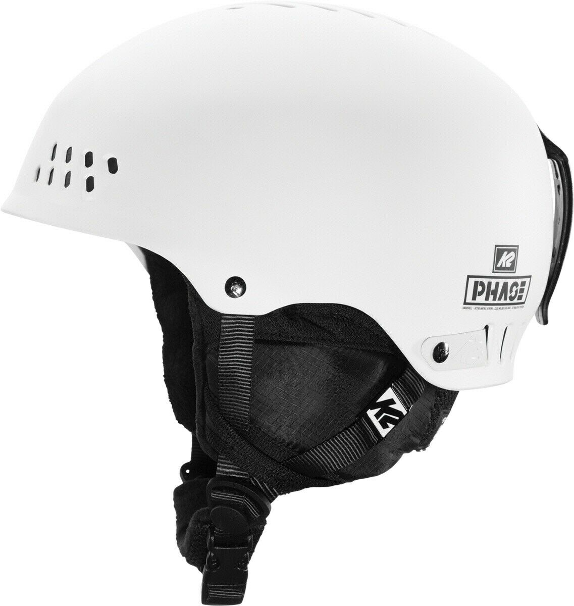 K2 Phase Pro Skihelm Snowboardhelm white