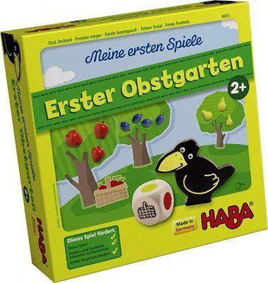 HABA Meine ersten Spiele  ERSTER OBSTGARTEN FARBEN & SYMBOLE Spiel ab 2 Jahre