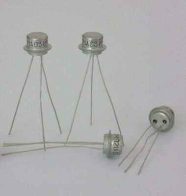 Lot 100 Pcs Mp13-mp16 Mp20-mp26 Mp39-mp42 P-n-p Germanium Transistors New Nos