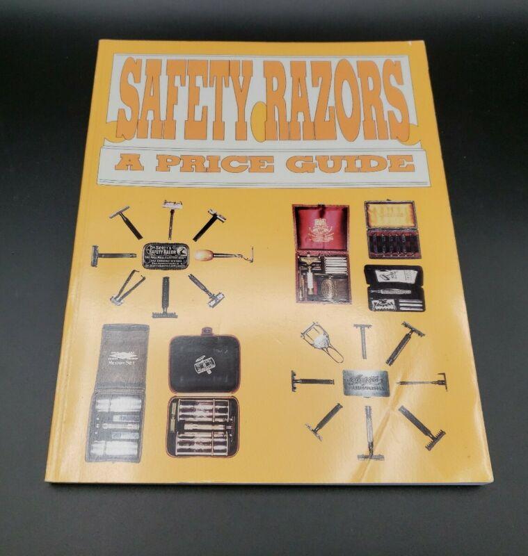 SAFETY RAZORS Identification & Price Guide BOOK LW Book Shaving Memorabilia