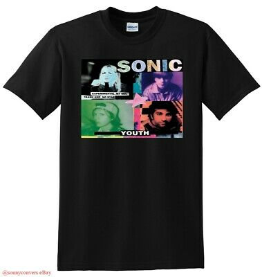 SONIC YOUTH T SHIRT experimental jet set trash and no star SMALL MEDIUM LARGE