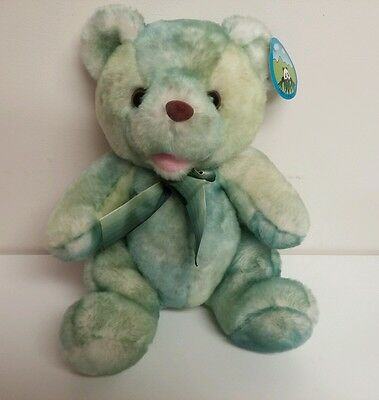 "Peek A Boo Green Teddy Bear 11"" Plush Stuffed Animal"