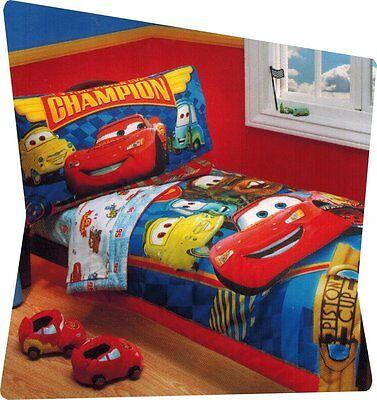 Disney Pixar Cars 2pc Toddler Sheet Set Cars 95 Champion