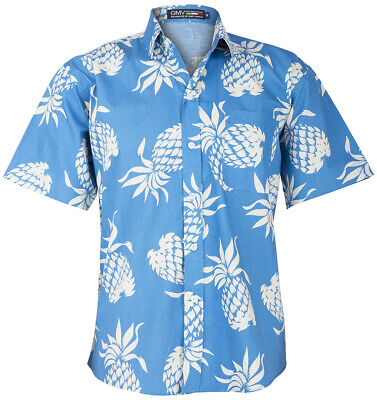 Ananas Aloha Shirt (Tropical KAWIKANI Pineapple ANANAS Aloha Retro Shirt HAWAIIHEMD Rockabilly)