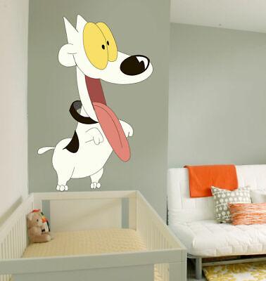 ced427 Full Color Wall decal Sticker dog joy bedroom kids nursery