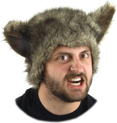 Morris Costumes Adult Werewolf Faux Fur Hat. ELA5575 - Werewolf Hat