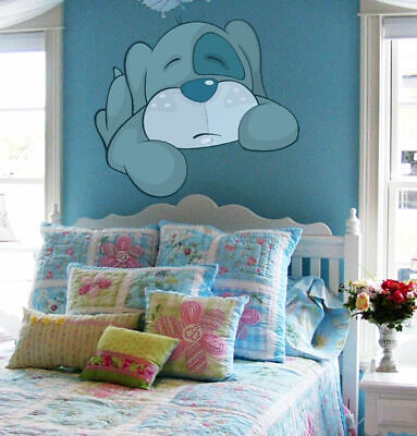 ced87 Full Color Wall decal Sticker dog dream bedroom kids nursery