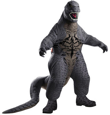 Monster Adult Costumes (Morris Costumes Men's Monster Godzilla Halloween Adult Complete Outfit.)