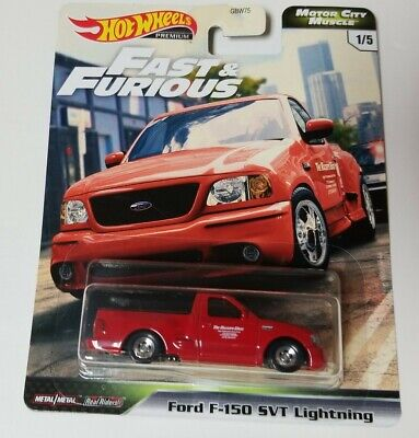 2020 HOT WHEELS FAST & FURIOUS MOTOR CITY MUSCLE FORD F-150 SVT LIGHTNING GREAT!