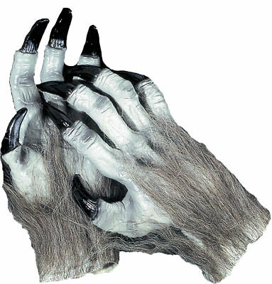 Morris Costumes Accessories & Makeup Hands & Feet Grey. - Grey Werewolf Feet