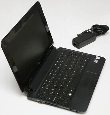 HP MINI 110 Laptop/Netbook Computer. Atom 1.66GHz 1GB-RAM 320GB-HD w/charger segunda mano  Embacar hacia Mexico