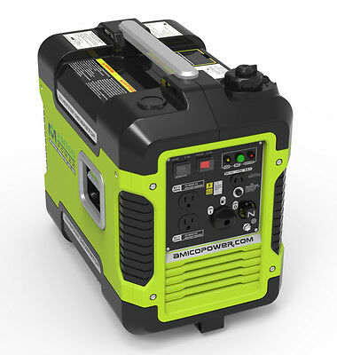 Amico 2000 Watt 2kw Portable Sine Wave Inverter Generator Mobile New