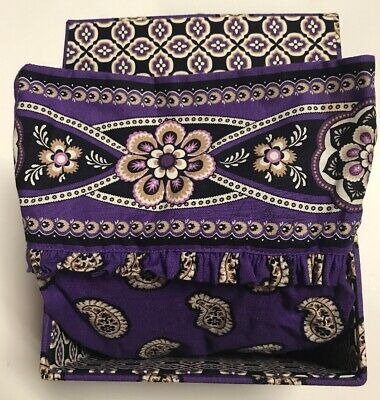 NWT VERA BRADLEY Mother's Day Apron Gift Set SIMPLY VIOLET New, Recipe Box
