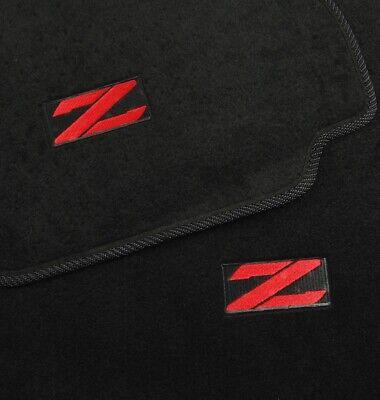 Z Black Custom Fit Carpet Floor Mats Front Rear Fit 1990-1996 Nissan 300ZX -