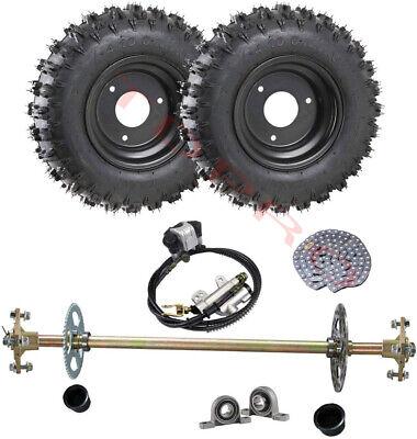 """1-1//4/"""" x 40/"""" Thin Wall Tubular Steel Axle Go Kart Racing Cart Drift Trike Parts"""