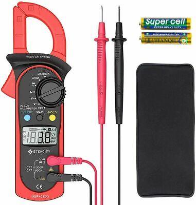 Etekcity Digital Multimeter Amp Volt Clamp Meter Voltage Tester With Ohm