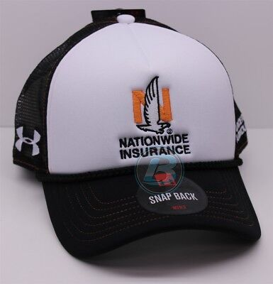 Dale Earnhardt Jr   88 Nationwide Darlington Special Blk Wht Under Armour Hat